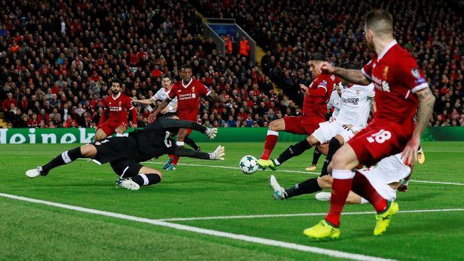 Liverpool Ditahan Imbang Sevilla