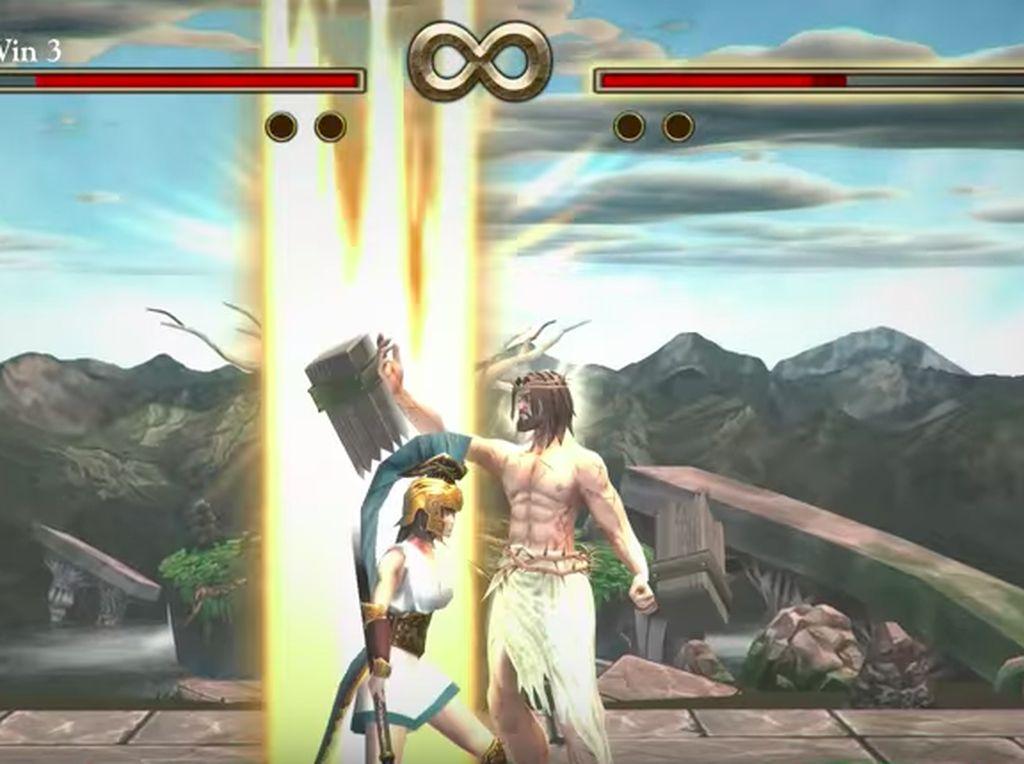 Steam pun minta maaf dan menutup aksesnya. Foto: Screenshot Fight of Gods