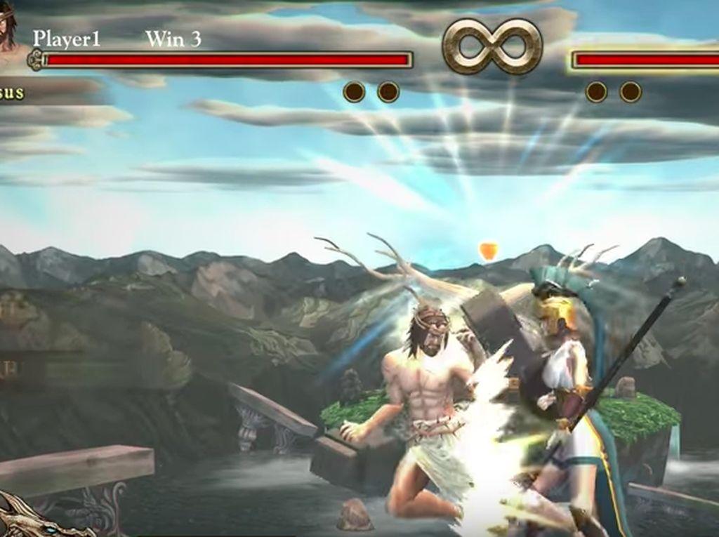 Pemerintah Malaysia bahkan sudah langsung memblokir game ini. Foto: Screenshot Fight of Gods