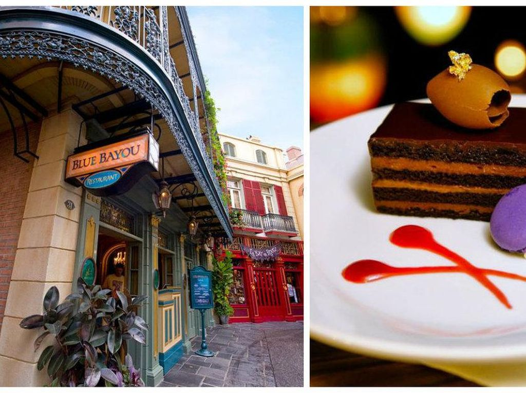 Blue Bayou yang ada di New Orleans Square, Disneyland memiliki suasana nyaman. Ini terinspirasi dari Cajun yang unik. Foto: Istimewa
