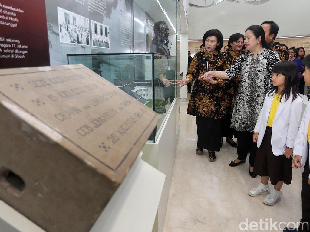Museum bernama resmi Indonesia Museum of Health and Medicine (iMuseum) tersebut berisi sejarah kedokteran hingga perkembangan teknologi kedokteran yang disajikan secara edukatif.