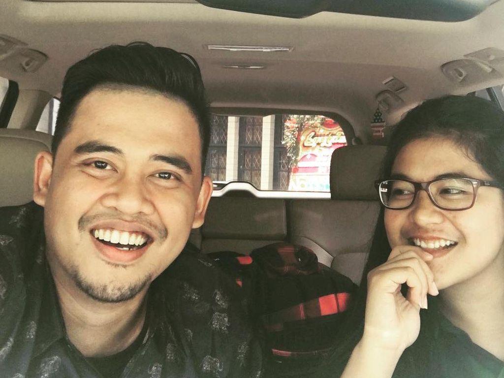 Jelang Menikah, Intip Lagi Foto Kemesraan Kahiyang Ayu dan Bobby Nasution