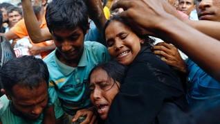 Krisis Rohingya Sulit Dibawa ke Mahkamah Pidana Internasional