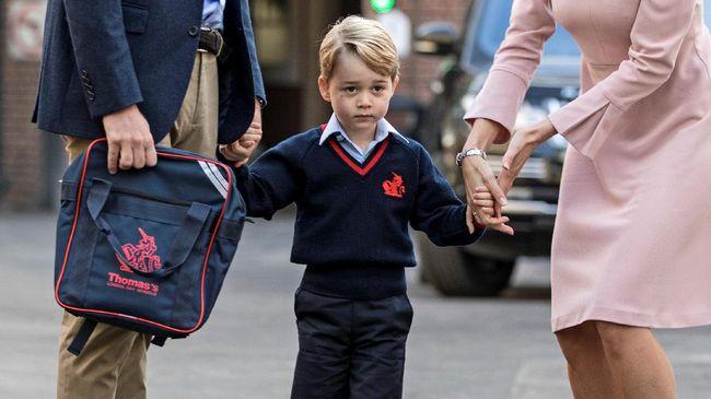 Pangeran George Tak Sadar Harus Sekolah Tiap Hari