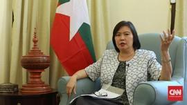 Paket Mencurigakan di Depan Rumah Dubes Myanmar Berisi Batik