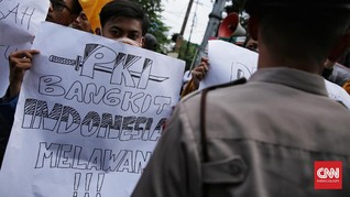 Isu PKI, Saat 'Hantu' Lama Bersemi Kembali