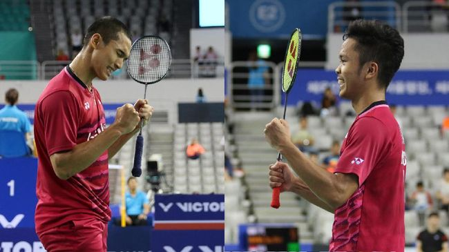 Jonatan Christie vs Anthony Ginting: Final yang Lama Ditunggu
