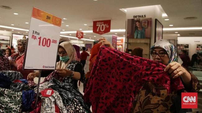 Sekretaris Perusahaan Matahari Department Store Miranti Hadisusilo mengatakan, penutupan gerai di Pasaraya Manggarai dan Pasaraya Blok M menjadi penutupan perdana yang dilakukan perusahaan di tahun ini.(CNN Indonesia/Hesti Rika).