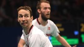 Mathias Boe/Carsten Mogensen Tersingkir dari Indonesia Open