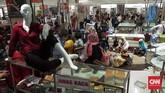 Selain di Pasaraya Manggarai, Gerai Matahari Department Store di Pasaraya Blok M juga dikabarkan akan ditutup akhir bulan ini.(CNN Indonesia/Hesti Rika).
