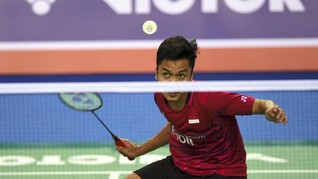 Anthony Ginting Kalahkan Chen Long di Malaysia Masters