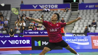 Anthony Ginting Lolos ke Perempat Final Malaysia Masters