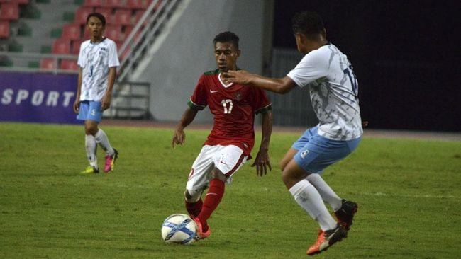 Sutan Zico Hattrick, Timnas Indonesia U16 Hajar Timor Leste