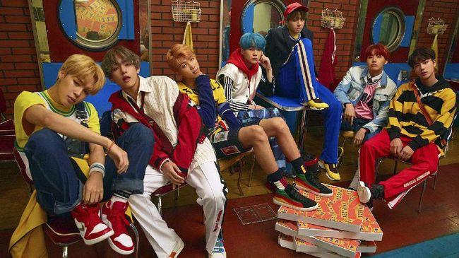 BTS Rilis Seri Pemungkas 'Love Yourself' Bulan Depan