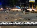 VIDEO: Massa Anti-PKI Kepung Gedung LBH, Kericuhan Pecah