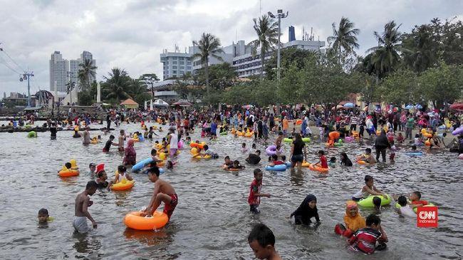 Pantai Ancol Masih Jadi Pilihan Wisata Warga Jakarta
