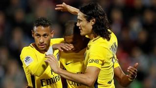 Cavani: PSG Bukan Hanya Cavani-Neymar-Mbappe