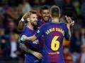 Barcelona Hajar Eibar 6-1, Messi Quattrick