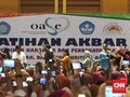 Kala Ratusan Guru PAUD Berteriak Jokowi 'So Sweet'