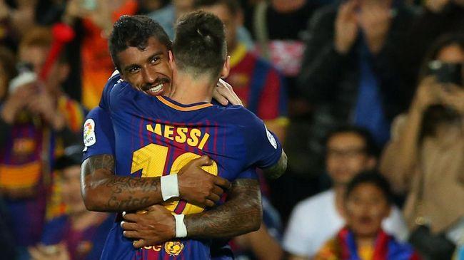 Paulinho: Messi Minta Saya ke Barcelona