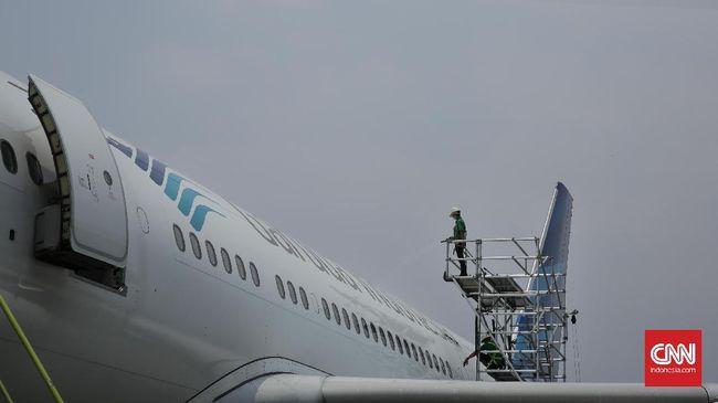 Garuda Klaim Sudah Bayar Denda ke OJK dan Bursa