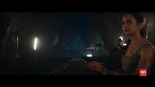 VIDEO: 'Lara Croft' Angelina Jolie Pindah ke Alicia Vikander