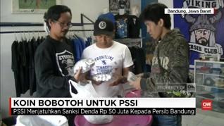 VIDEO: Koin Bobotoh untuk PSSI Sudah Melebihi Target
