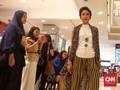 Indonesia Berpesta Batik sampai Puncak Gedung Sarinah