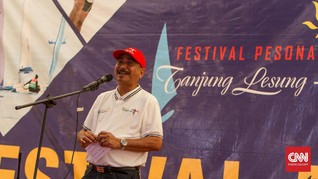 Festival Pesona Tanjung Lesung Resmi Digelar