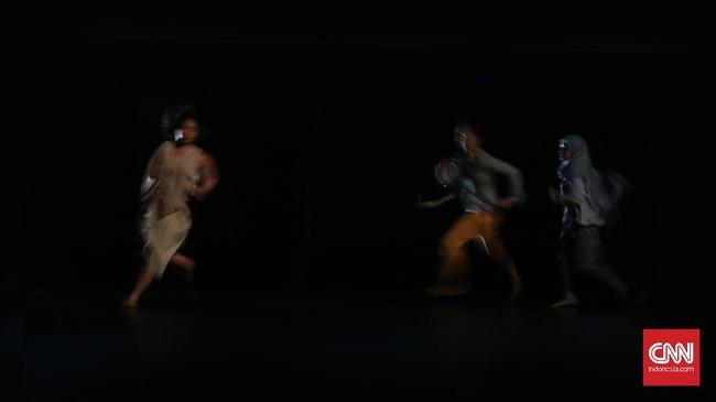 Pendiri Dance ID, Mariska Febriyani, menyebut ide acara tari inklusif ini muncul ketika ia berpartisipasi dalam acara tari bersama para penari difabel berkualitas internasional di Glasgow. (CNN Indonesia/ Hesti Rika)