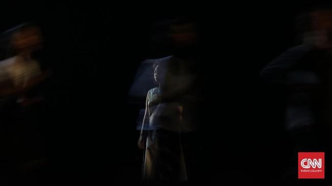 Mariska Febriyani menyebut etos kerja para penari difabel sangat tinggi sehingga ia tidak lagi melihat keterbatasan mereka. Karena itulah, Mariska ingin menularkan semangat yang sama ke Indonesia. (CNN Indonesia/ Hesti Rika)