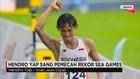 Hendro Yap, Atlet Nasional Jalan Cepat Indonesia