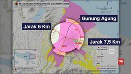 VIDEO: Daerah Rawan Dampak Letusan Gunung Agung