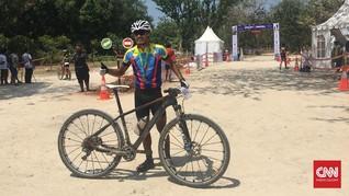 Peraih Dua Emas SEA Games Juara di MTB XCM Tanjung Lesung