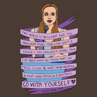 Sejumlah gambarnya juga menampilkan banyak pesan untuk menjadi diri sendiri. (Foto: Instagram @makedaisychains)