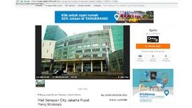 Century 21 Buka Suara soal Iklan Jual Senayan City Rp5,5 T
