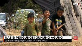 VIDEO: 34 Ribu Pengungsi Gunung Agung Tersebar di 238 Titik