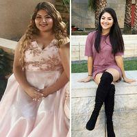 Hanya butuh waktu satu tahun untuk wanita ini mengubah dirinya menjadi seperti sekarang. (Foto: Instagram/crystal_breeze)