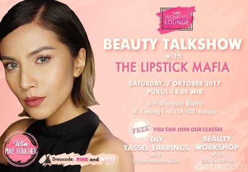 Yuk Ikut, Beauty Talkshow Wolipop Bareng The Lipstick Mafia