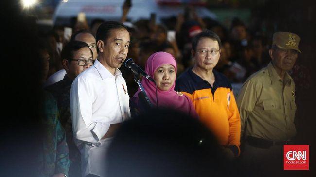 Jokowi Minta Khofifah Beri Laporan Resmi Ikut Pilgub Jatim