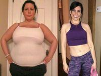 Wanita ini mengaku mendapat motivasi untuk menjaga berat badannya dari sang kekasih. (Foto: instagram/ilostbigandsocanyou)