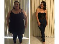 Perubahan dari gemuk ke kurus ini berhasil dicapai Jennifer dalam waktu 18 bulan. Lewat olahraga dan diet beratnya turun dari 157 kilogram (kg) menjadi 67 kg. (Foto: instagram/jens_healthjourney)