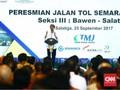 Jokowi: Kita Berpuluh-puluh Tahun Hanya Bangun 780 km Jalan