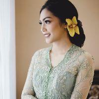 Pernikahan Milka dan Ray dihadiri oleh beberapa kalangan mulai dari tokoh politik hingga artis. Bahkan Presiden Joko Widodo beserta ibu negara, Iriana juga turut hadir. (Foto: instagram/milkanisa)