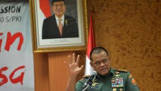 Tim Prabowo Minta Maaf Catut Foto Gatot Nurmantyo di Baliho
