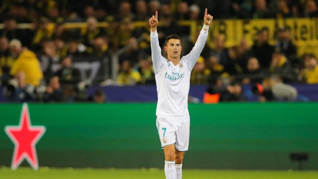 Ada 10 Gelar untuk Ronaldo di Musim 2017/2018