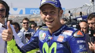 Valentino Rossi Raja Medsos di Italia