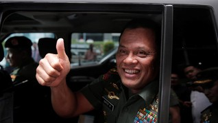Jenderal Gatot Merasa Merdeka Usai Lepas Jabatan Panglima TNI
