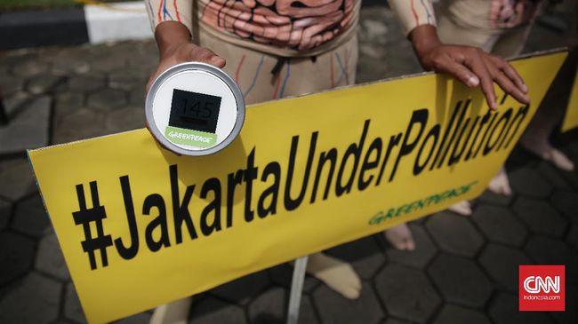 Jelang Asian Games 2018, Jakarta Jadi Kota Berpolusi Tinggi