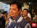 Airlangga Minta Izin Jokowi 'Rebut' Kursi Ketum dari Setnov
